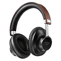 AudioMX Auriculares Bluetooth estereo inalambricos con microfono