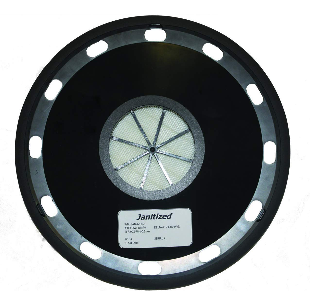 Janitized JAN-IVF051 Pullman Holt 390ASB and Euro 930 Premium Replacement Commercial HEPA Filter
