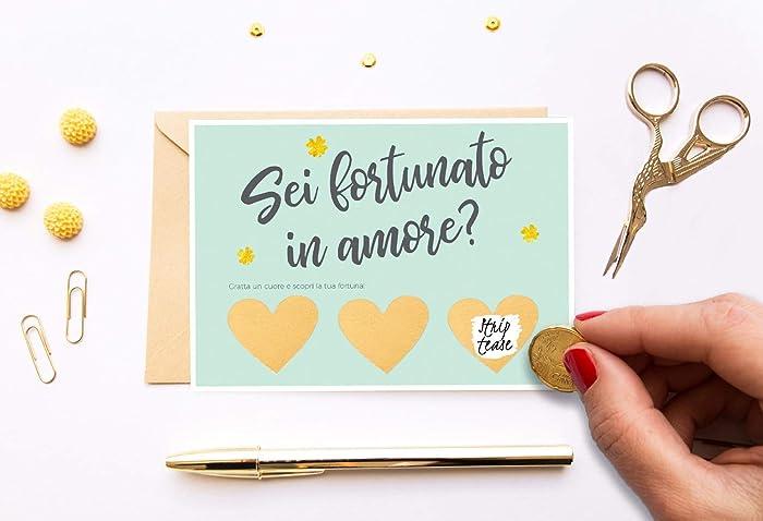 Regali Per Anniversario Di Matrimonio Per Lui.Biglietto Amore Per Lui San Valentino Regalo Di Compleanno