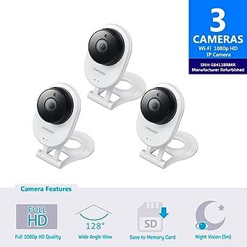 Amazon.com: Samsung snh-e6413bmr Smartcam HD Wifi Cámara IP ...
