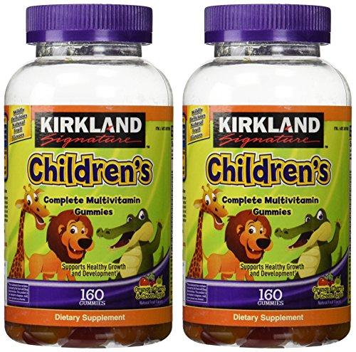 Kirkland Signature Children's Complete Multivitamin Gummies, 320 Count