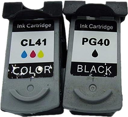 Cartuchos de Tinta de Repuesto para Canon Pixma MP190, MP198, MX318, MX300, MX310 y MultiPass 450