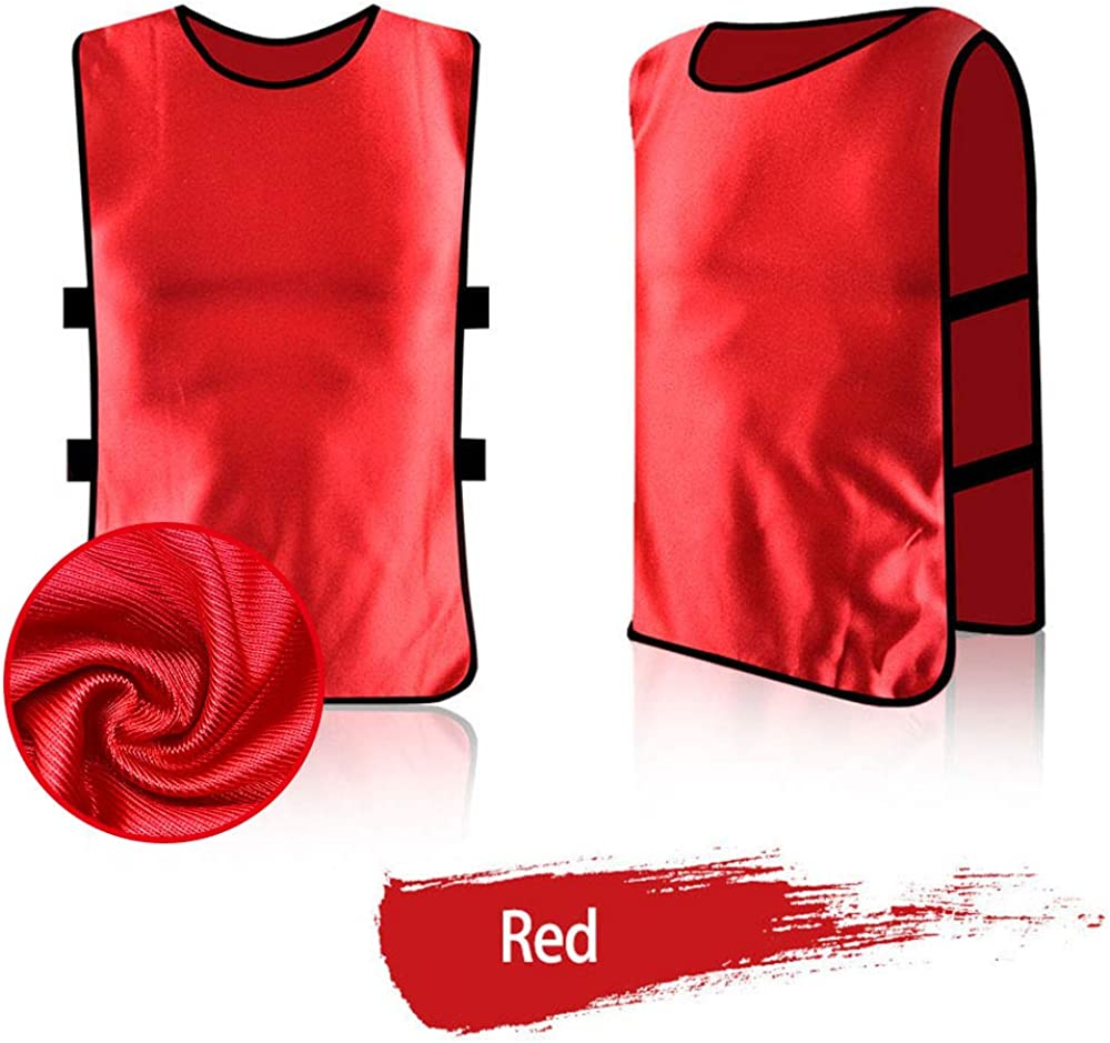 Antoyo Pinnies Adult,Youth Football Practice Jerseys,Soccer Equipment for Trainin: Clothing