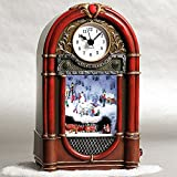 Smithsonian Vintage Radio-Style Musical Clock