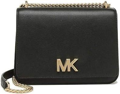 Michael Kors Mott Shoulder Bag Cross Body (Black): Amazon.fr ...