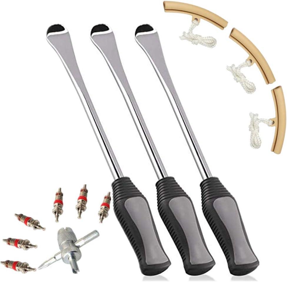 Capalta Blume Reifenheber Reifen Montiereisen Tire Spoons Lever Iron Tool Kits Hebel Werkzeug Löffel Für Motorrad Fahrrad Reifen Auto