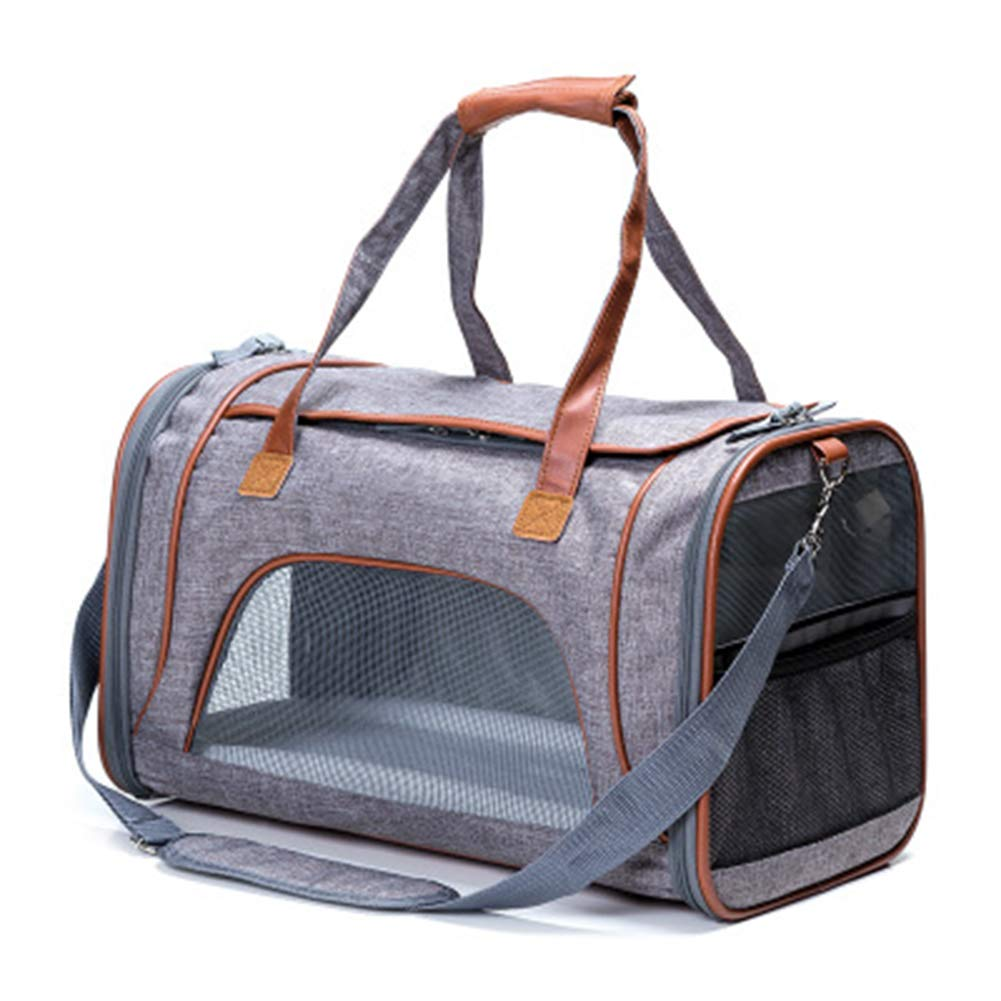 B Breathable Pet Bag Pet Air Box Pet Out Bag Collapsible Portable Pet Cage Cat Dog Out Of The Suitcase,B