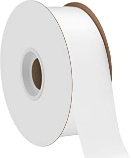 product image for Offray Single Face Satin Craft 1-1/2-Inch by 50-Yard Ribbon Spool, White
