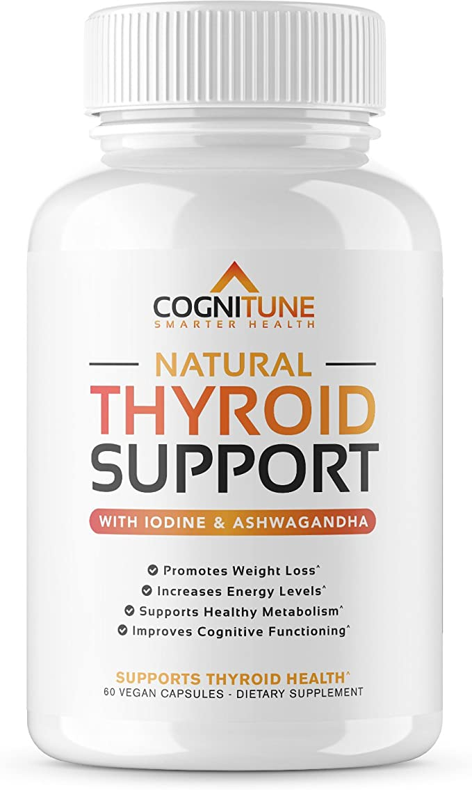 Amazon Com Natural Thyroid Support Complex Supplement With Iodine