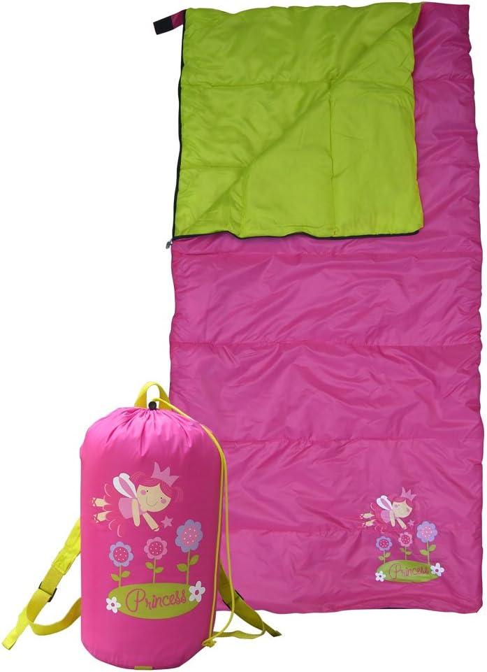 GIGATENT 54 FLOWER KID S SLEEPING BAG Backpack Included