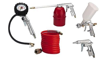 Compresor de aire comprimido Juego de accesorios de 5 piezas de aire comprimido Set 5 piezas