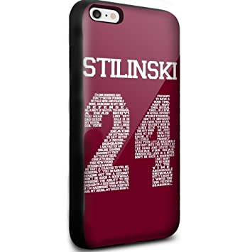 Teen Wolf Stilinski 24 tv series iPhone 6 Plus /6s Plus Black Case