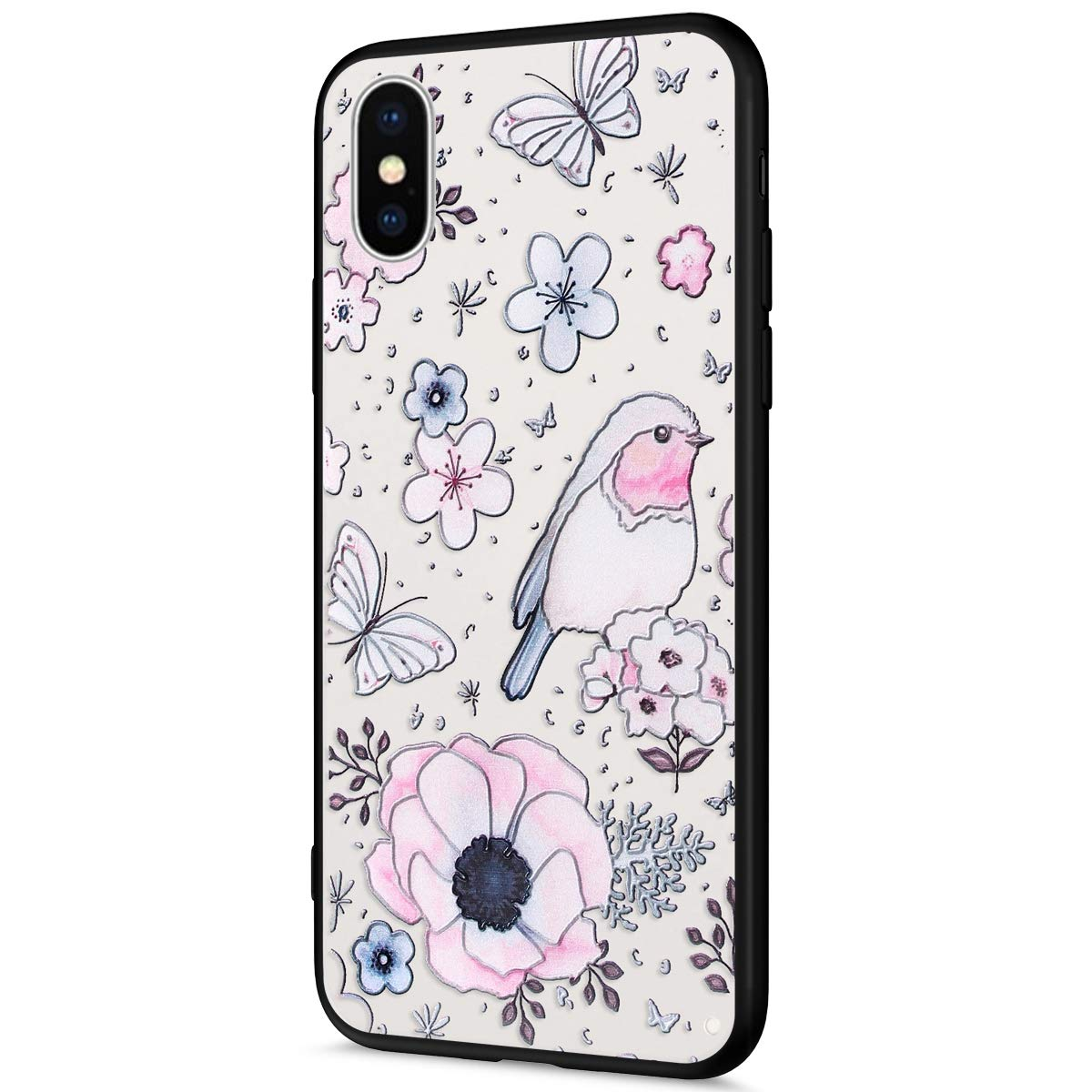 coque iphone xs silicone fantaisie
