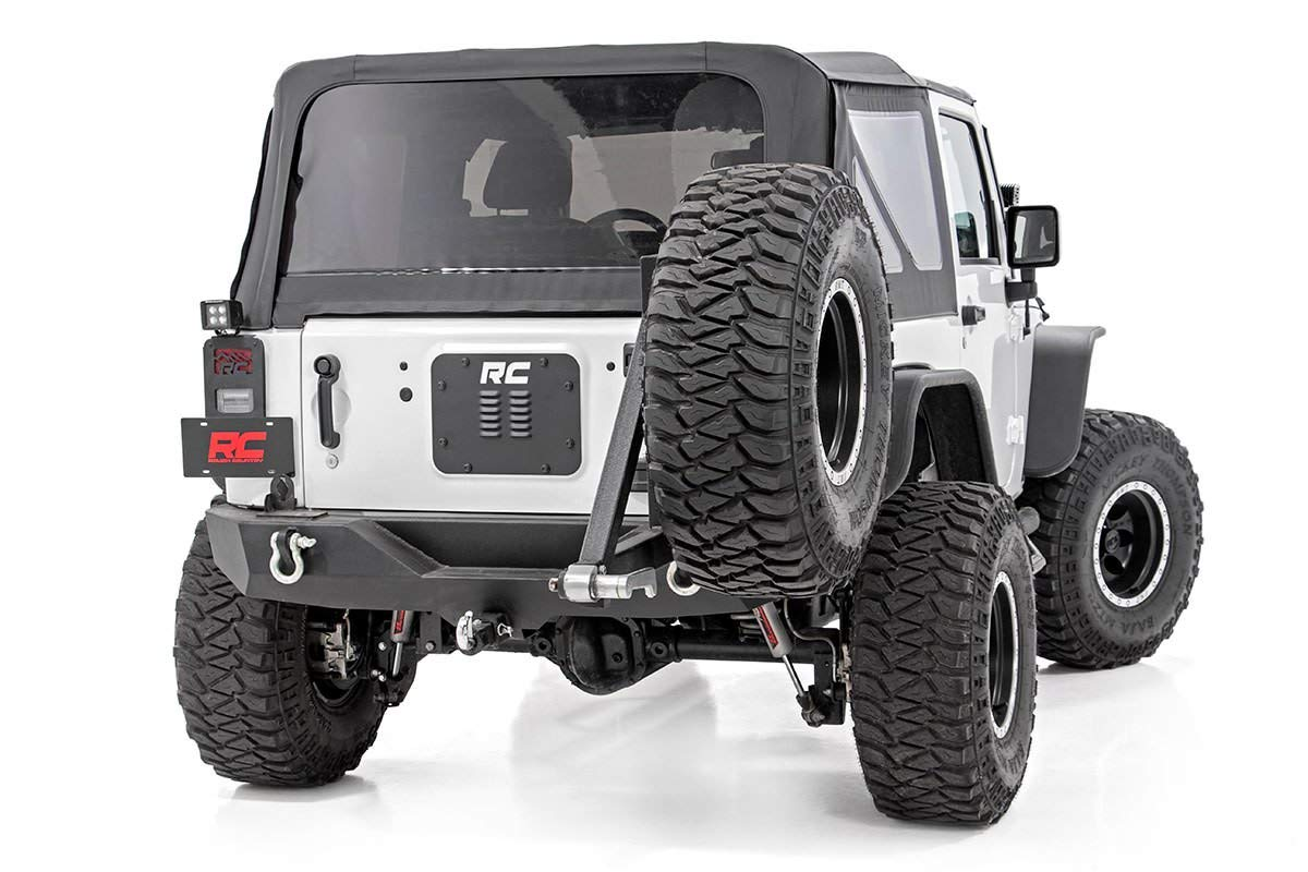 Rough Country 10514 Tailgate Vent Add On Tailgate Vent Compatible w// 2007-2018 Jeep Wrangler JK