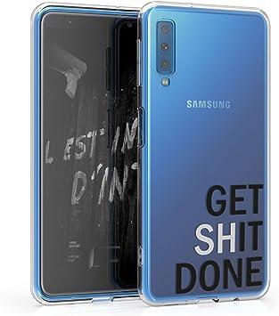 kwmobile Funda Compatible con Samsung Galaxy A7 (2018): Amazon.es ...