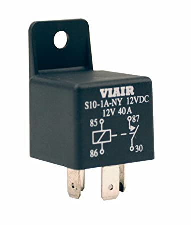 Amazon viair 93940 40 amp air compressor relay for 12 volt viair 93940 40 amp air compressor relay for 12 volt compressor sciox Images