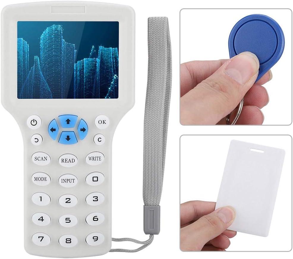 Qinlorgo Multi Frequency RFID Card Reader Identification RFID ID Card Access Control Copy Machine Reader Kit