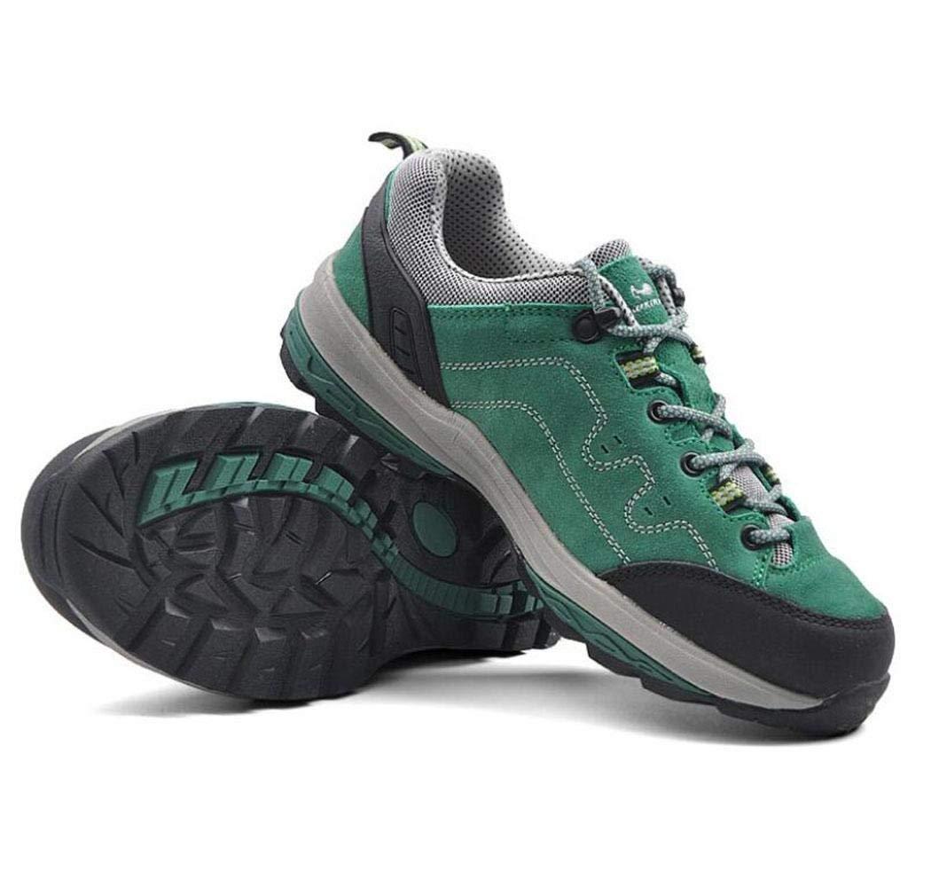HhGold SportOutdoor Klettern X Schuhe Schuhe Schuhe Wandern Freizeit Freizeit Rutschfeste Atmungsaktive Schuhe (Farbe   Grün, Größe   EU 40) 05a6b0