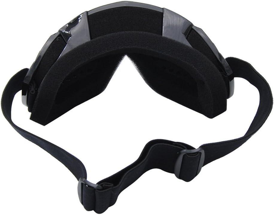 Tmei Professional Bendable Frame Winddicht Staubdicht Sport Googles Eyewere Brillen f/ür Motocross Offroad Trials Enduro Helm ATV Dirt Bike Motorrad