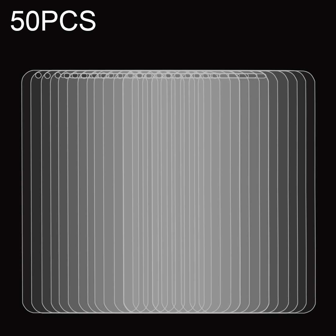 JIANGNIUS Screen Protector 50 PCS for LG Q6 0.26mm 9H Surface Hardness Explosion-Proof Full Screen Tempered Glass Screen Film