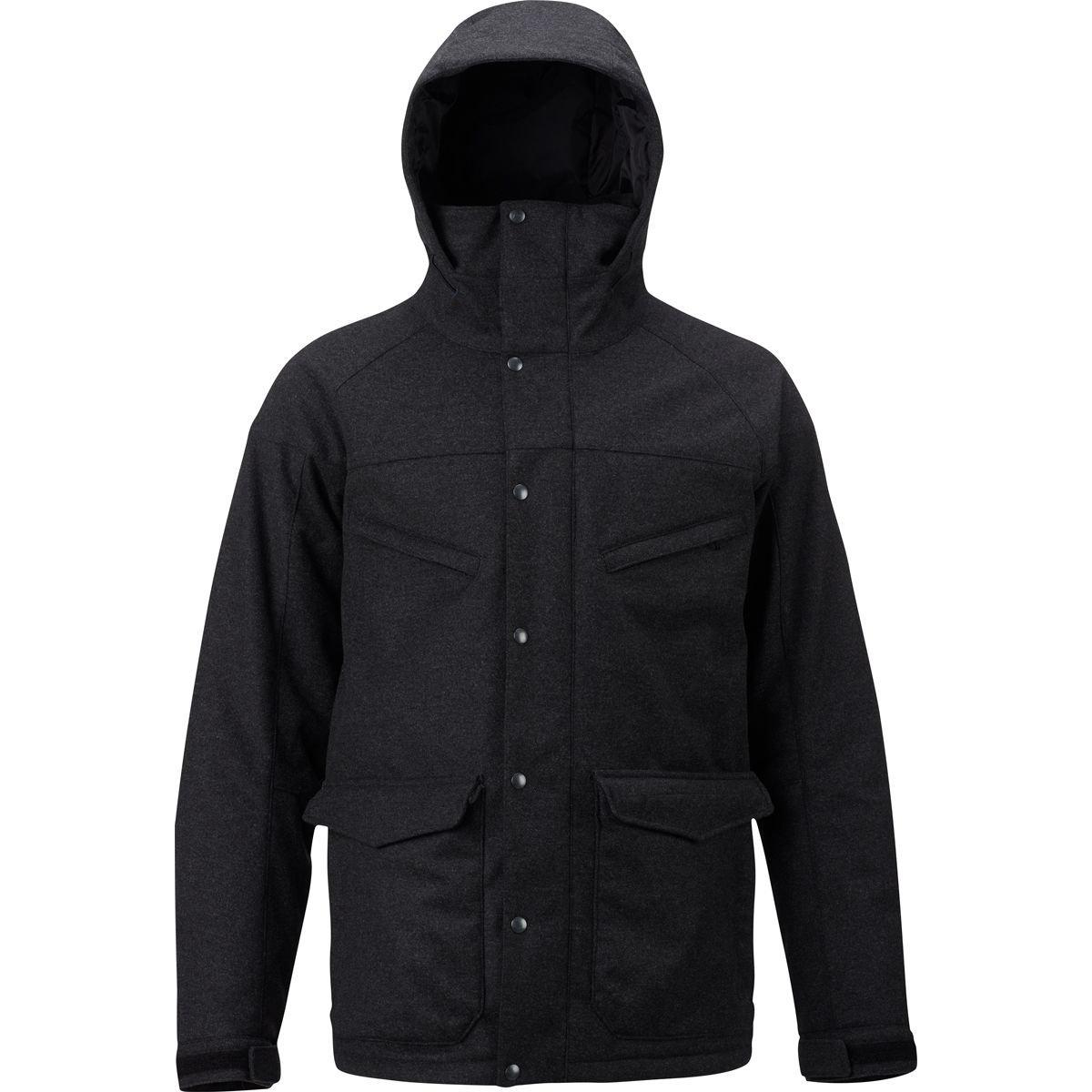 (バートン) Burton Breach Wool Insulated Jacket メンズ ジャケットFaded Wool [並行輸入品] B076WM1SWY 日本サイズ L (US M)|Faded Wool Faded Wool 日本サイズ L (US M)
