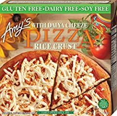 Non-Dairy Cheese Pizza w/ Rice Crust 6 oz, Pack of 12