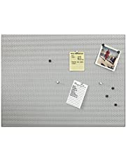 Umbra Bulletboard, Wall Mounted Bulletin Board, Magnetic Board, and Message Board, Nickel