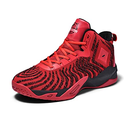YSZDM Zapatillas de Baloncesto, Botas de Hombre Antideslizantes ...