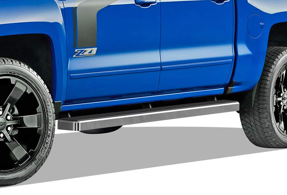 "5/"" Black eBoard Running Boards For 07-18 Chevy Silverado//GMC Sierra Regular Cab"