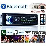 Boom Boost Car stereo 12V FM nella radio di deviazione standard 1 radio di deviazione standard SD / USB AUX Bluetooth Handsfree autoradio