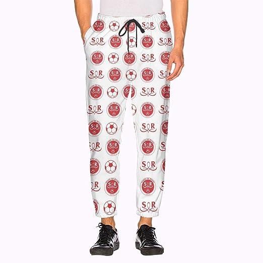 FFYS-BSTG - Pantalón de chándal para Hombre, poliéster, Blanco ...