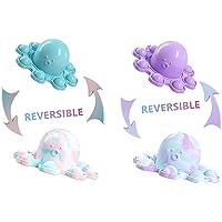 AM ANNA Reversible Octopus Push Pop bubble Sensory Fidgets Toys,2 Pack Pop Its Simple Dimples Sensory Toy,Handheld Mini…