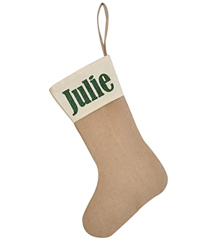 Amazon Com Huan Xun Personalized Christmas Stocking Custom Name