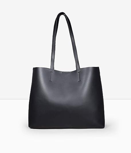 64d192a31d3 Bosanova Bolso Shopper Bag con Bolsillo Frontal y Bolso Interior Pequeño  para Mujer