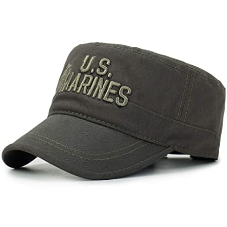 SKAMAO Gorra De Beisbol Camuflaje Gorra Plana Marines Gorras De ...
