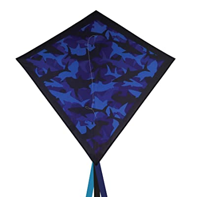 "In the Breeze 3265 - Shark Camo 30"" Diamond Kite - Fun, Easy Flying Camo Kite: Toys & Games"