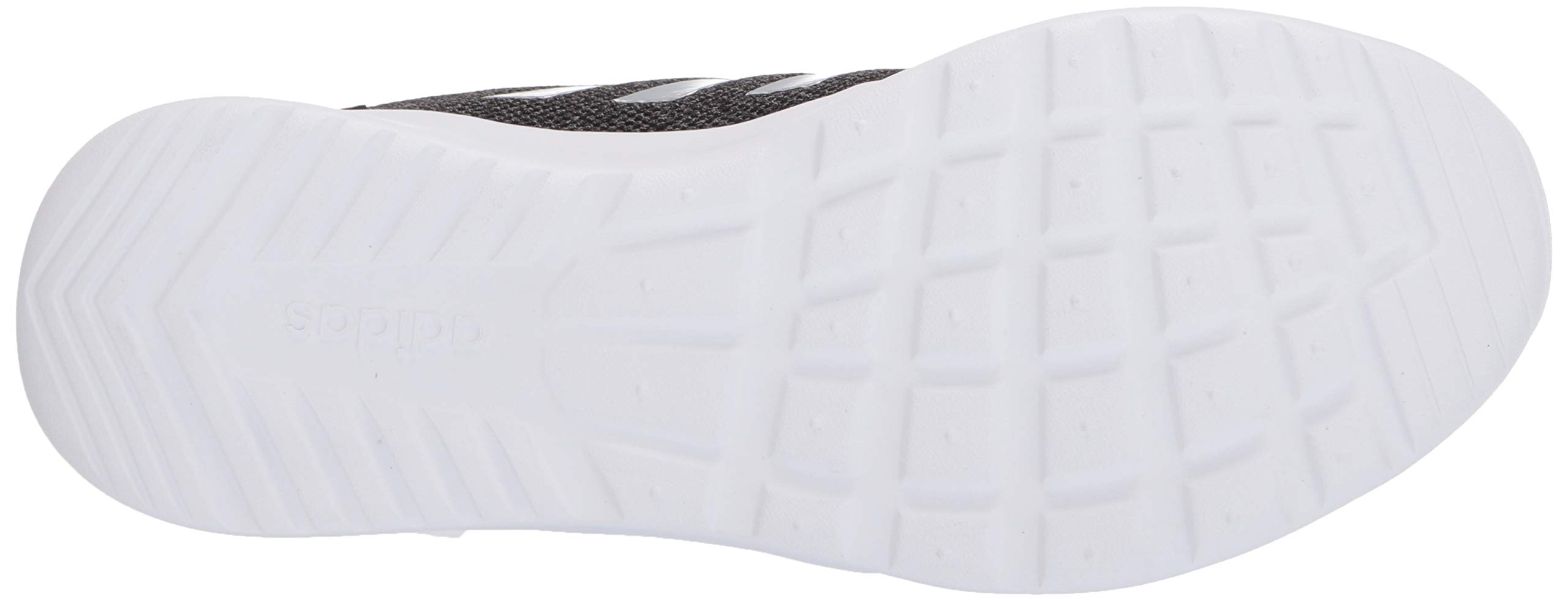 adidas Women's Cloudfoam Qt Racer Sneaker, Black/Silver Metallic/Grey, 5.5 M US by adidas (Image #3)