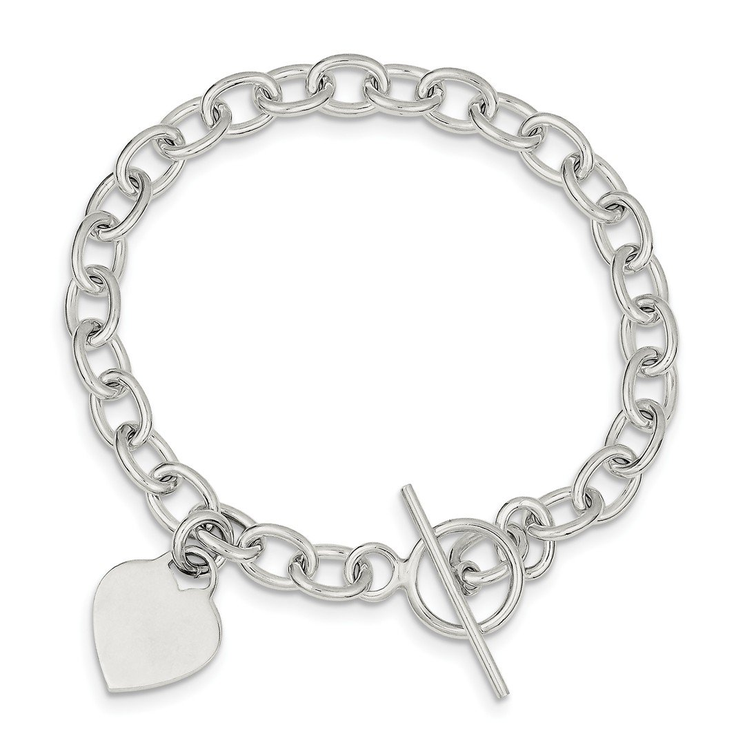 ICE CARATS 925 Sterling Silver Dangling Heart Charm Bracelet W/charm Fine Jewelry Ideal Gifts For Women Gift Set From Heart