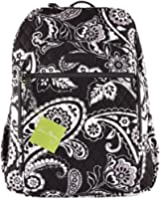 Vera Bradley Campus Backpack Midnight Paisley