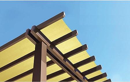 Patio Paradise - Rollo de tela para toldo, malla de red 95 % resistente a los rayos UV para exteriores, color turquesa: Amazon.es: Jardín