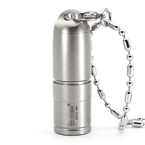 WUBEN G338 Linterna Mini Llavero con 2 Modos USB Recargable Linterna 130 lúmen LED Linterna perfecta para active al aire libre