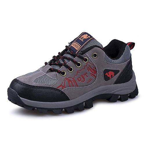 Zapatillas de Senderismo para niños Zapatillas de Deporte de Nieve para niños al Aire Libre para niños Zapatillas Deportivas Antideslizantes de Cuero ...