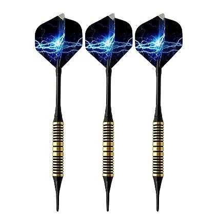 TRSMXYW Dartpfeile,Soft Darts Mit Kunststoffspitze,Professional Darts 17G Pink Soft Darts Elektronische Soft Tip Darts Mit Schaft Aus Aluminiumlegierung