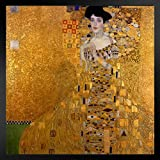 ProFrames Gustav Klimt The Woman In Gold Art Print Framed Poster 12x18