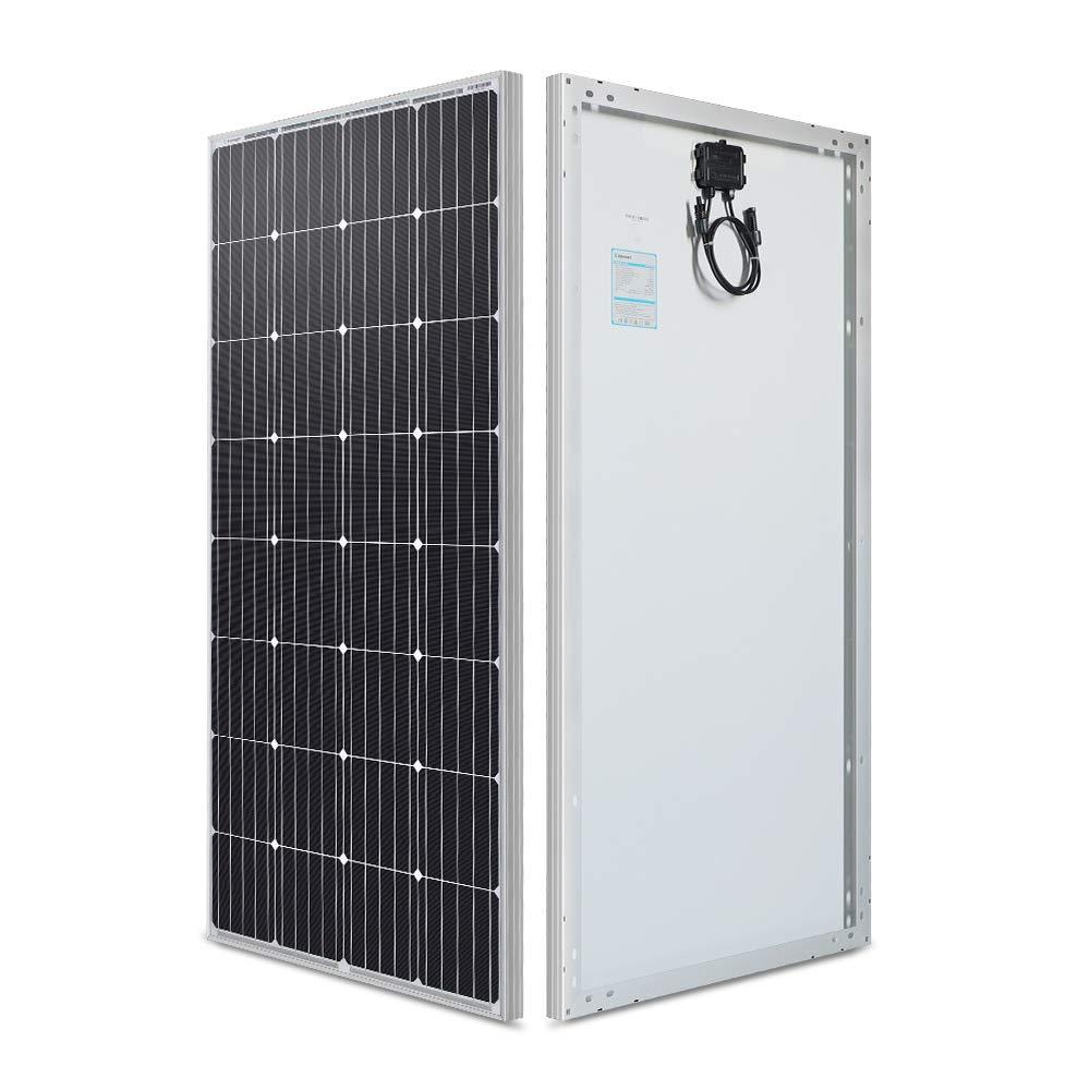 Renogy 160 Watt 12 Volt Monocrystalline Solar Panel,160W Mono, High Efficiency Module PV Power For Battery Charging Boat…