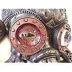 Steampunk Octopus Wall Plaque Sculpture,Bronze 6