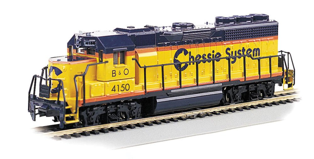 Bachmann Industries EMD GP40 DCC Ready Locomotive - CHESSIE #4150 - (1:87 HO Scale) Bachmann Industries Inc. 63525