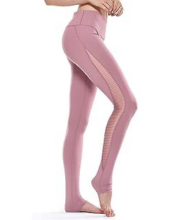 CRZ YOGA Pantalón Deportivo Mujer Leggings con Control de ...