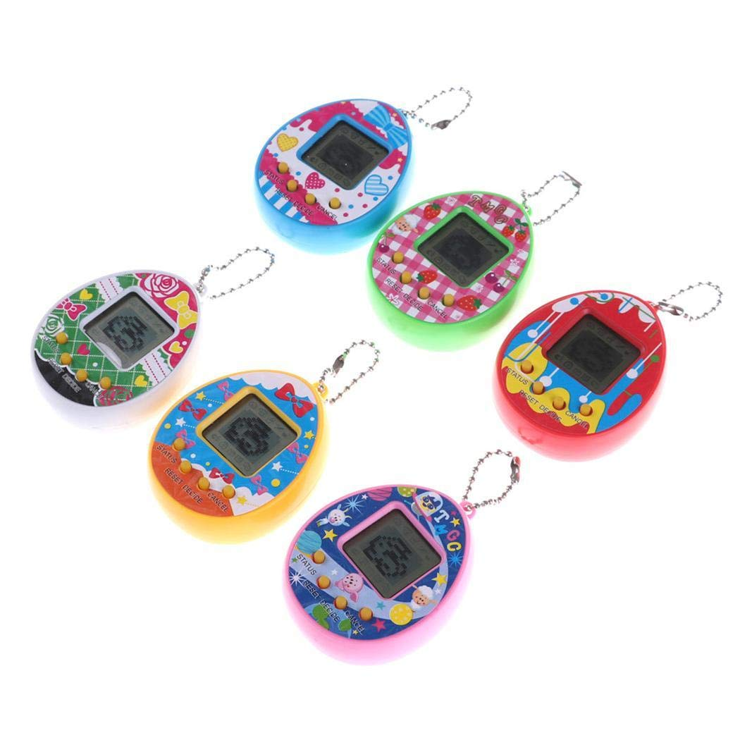 Victorig Kinder lustige Multicolor elektronische Tamagotchi virtuelle Pet Game Machine Spielzeug App-Spielzeug