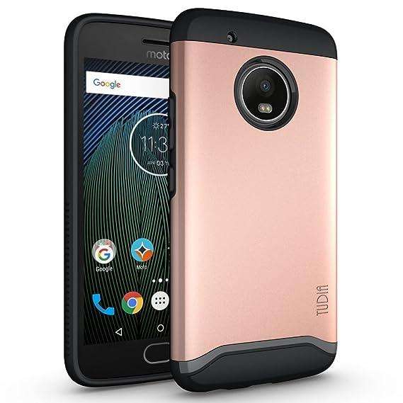 new style aa51e d2a67 Amazon.com: TUDIA Moto G5 Plus Case, Slim-Fit HEAVY DUTY [MERGE ...